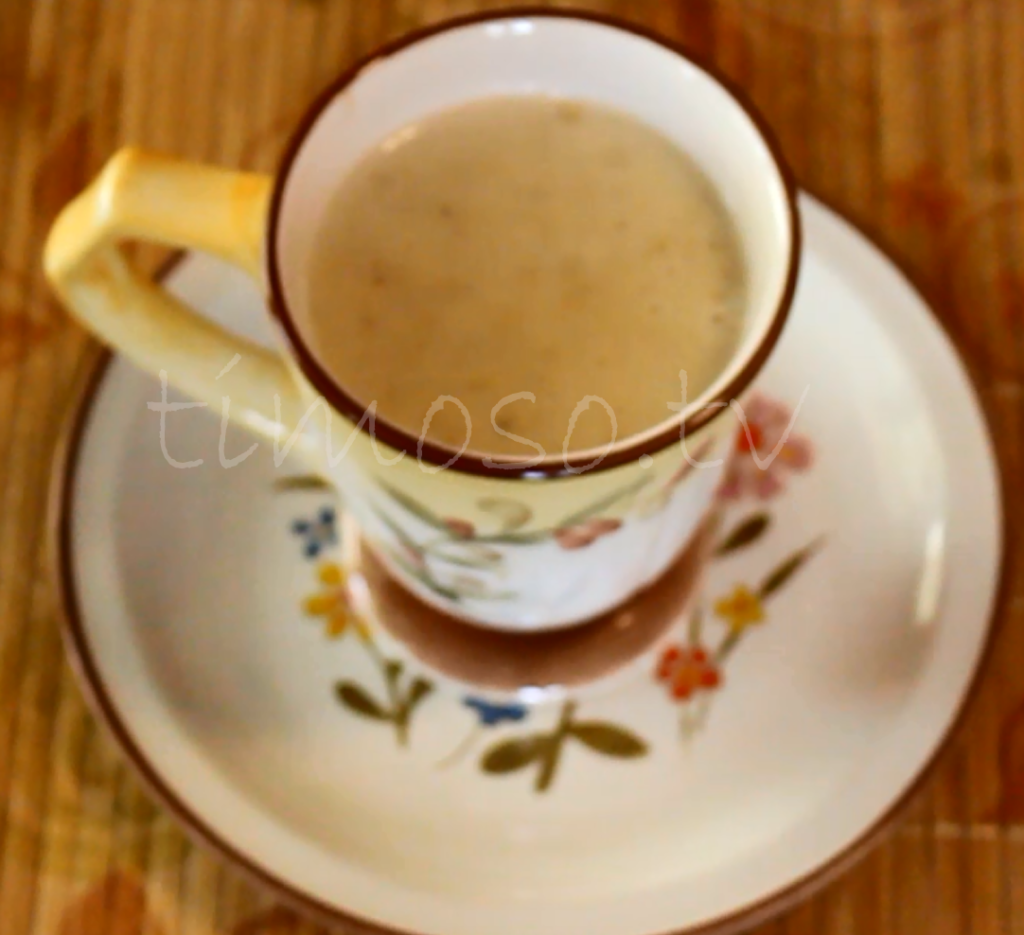 Cup of Haitian Oatmeal