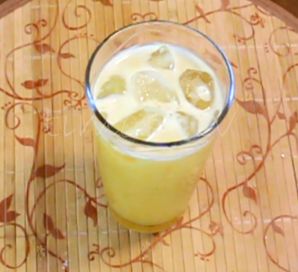 Cup of Pineapple Juice